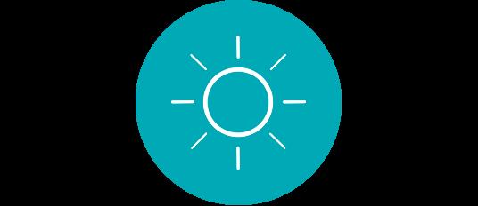 Incluso con lentes de sol, tus ojos son susceptibles a los rayos UV.
